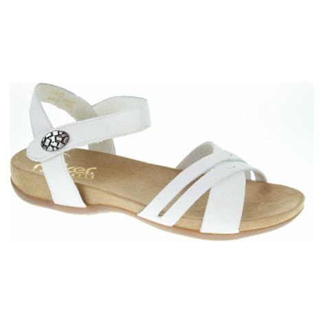 Dámské sandály Rieker 60553-80 weiss 60553-80