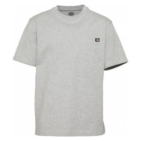 DICKIES Tričko  sivá
