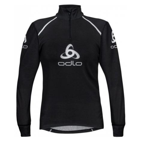 Odlo STAND-UP COLLAR L/S 1/2 ZIP ORIGINALS LIGHT LOGOLINE čierna - Pánske funkčné tričko