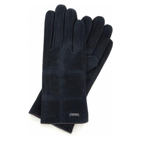 Granátové dámske semišové rukavice Wittchen