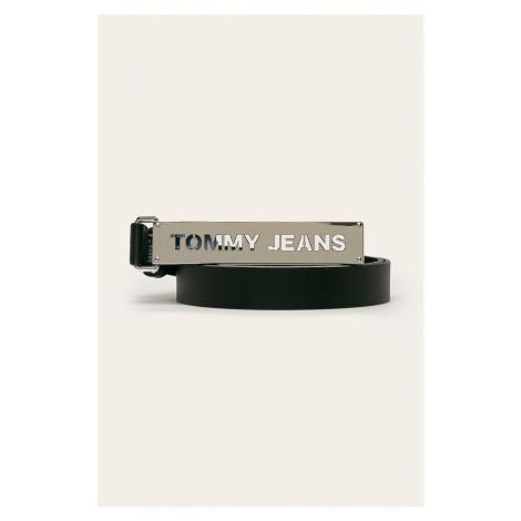 Tommy Jeans - Kožený opasok Tommy Hilfiger