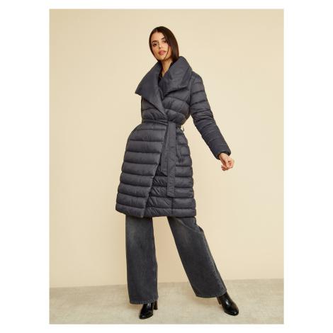 Čierny dámsky zimný prešívaný kabát ZOOT Trisha