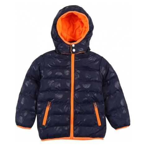 BLUE SEVEN Zimná bunda  oranžová / tmavomodrá