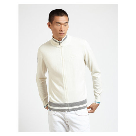Sveter La Martina Man Tricot Full Zip Gg.12