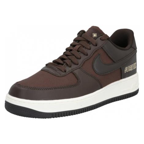 Nike Sportswear Nízke tenisky 'Air Force 1'  tmavohnedá / čokoládová