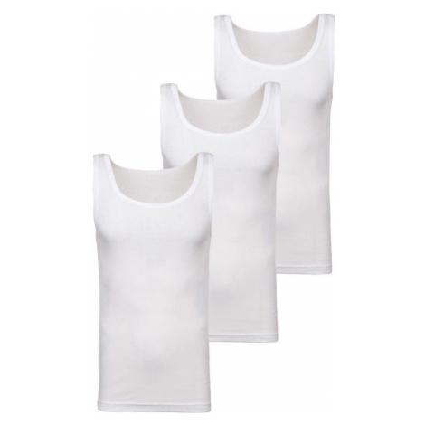 Biele pánske tričko bez potlače BOLF C10043-3P 3 KS JUSTPLAY