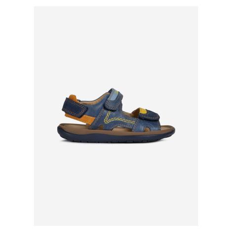 Lipari Sandále dětské Geox Modrá