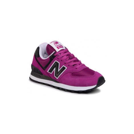 New Balance Sneakersy WL574LBC Fialová