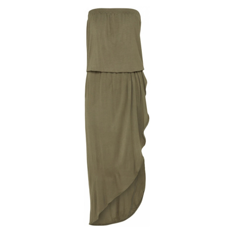 Urban Classics Letné šaty  kaki