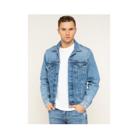 Pepe Jeans Džínsová bunda Pinner PM400908WG5 Tmavomodrá Regular Fit