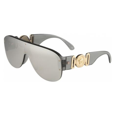 VERSACE Slnečné okuliare '0VE4391'  sivá / zlatá