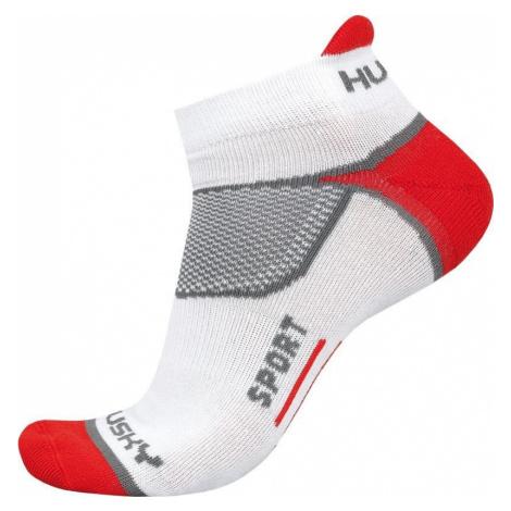 Husky Sport červená, XL(45-48) Ponožky