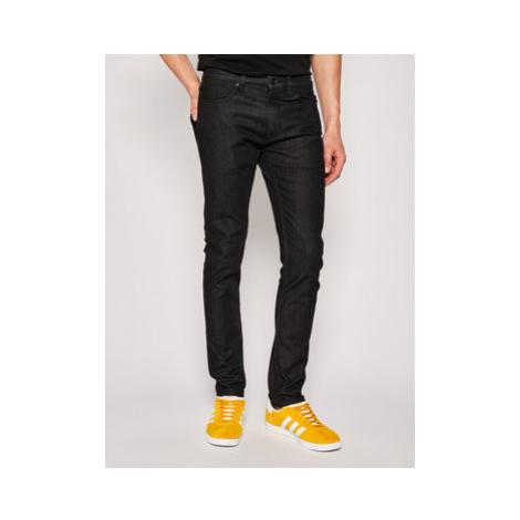 Hugo Extra Slim Fit džínsy 734 50426679 Čierna Slim Fit Hugo Boss