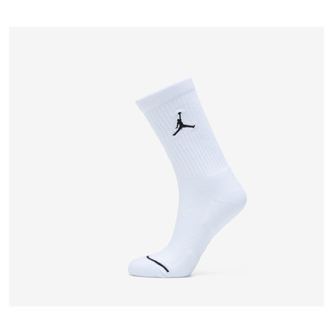 Jordan Everyday Max WF 3 Pair Socks White/ White/ White