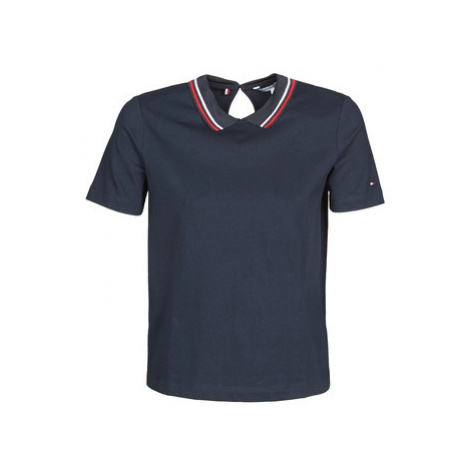 Tommy Hilfiger BILLY RELAXED POLO SS Modrá