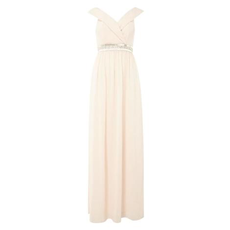 Tfnc bardot jewel waist maxi dress