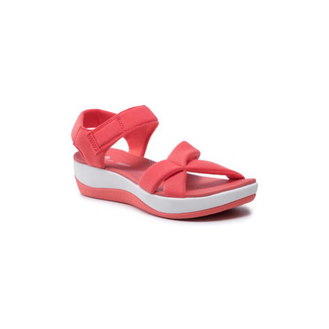 Clarks Sandále Arla Gracie 261591464 Červená