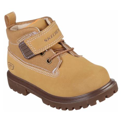 Skechers Bolders Infants Boots Tan