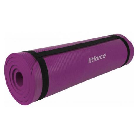 Fitforce YOGA MAT 180X61X1 fialová - Podložka na cvičenie
