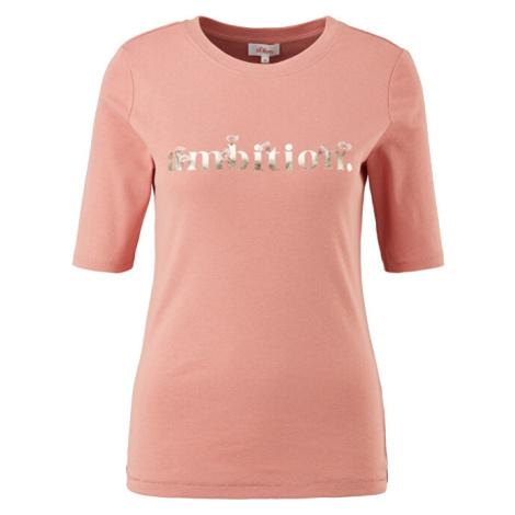 s.Oliver Dámske tričko Slim Fit 14.103.32.X054.37D3