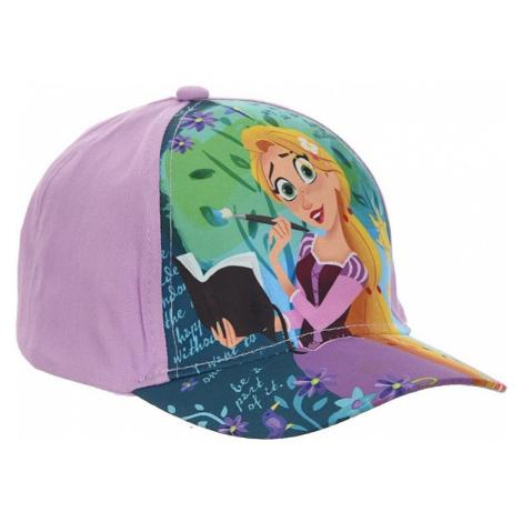 Locika fialová dievčenské šiltovka Disney
