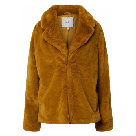 ICHI Prechodná bunda 'Coat'  hnedá