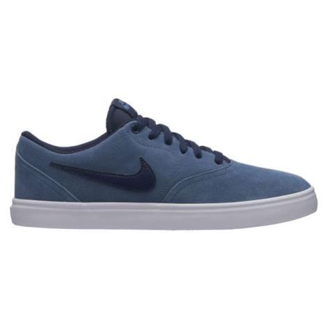 Nike SB CHECK SOLARSOFT modrá - Pánske tenisky