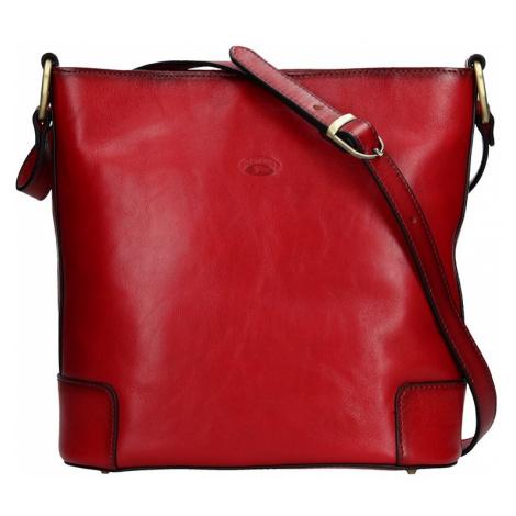 Dámska crosbody kabelka Katana Liliam - červená