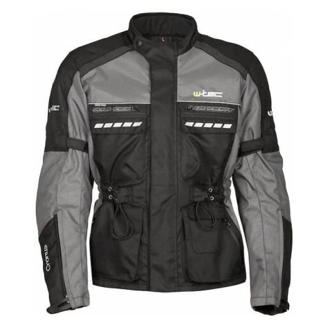 Moto bunda W-TEC Cronus Farba čierno-šedá