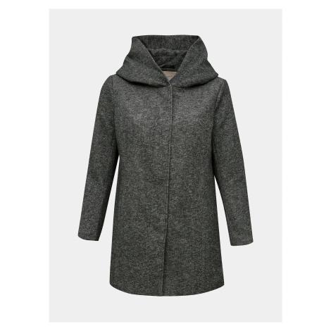 Šedý ľahký kabát ONLY CARMAKOMA Sedona