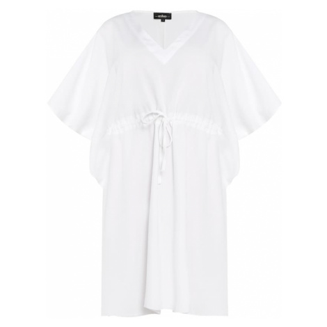 usha BLACK LABEL Letné šaty  biela