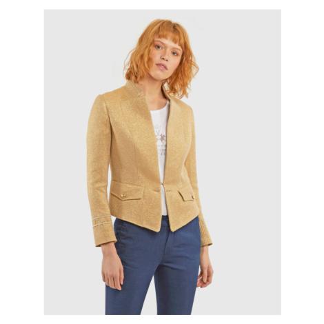Sako La Martina Woman Jacket Canvas Lurex