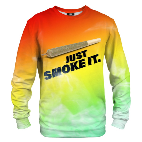 Mikina Mr. GUGU & Miss GO JUST SMOKE IT