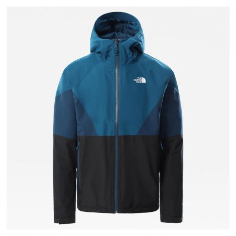 THE NORTH FACE Funkčná bunda  čierna / nebesky modrá / modrosivá / biela