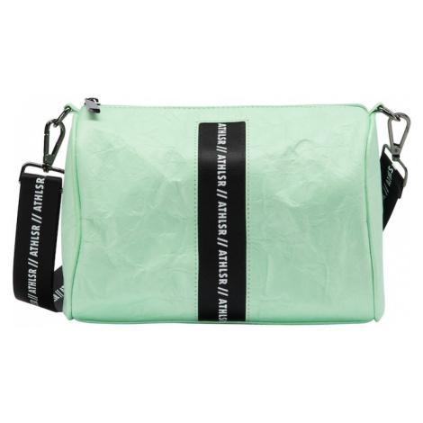 myMo ATHLSR Taška cez rameno  pastelovo zelená / biela / čierna