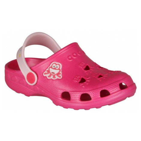 Coqui LITTLE FROG ružová - Detské sandále