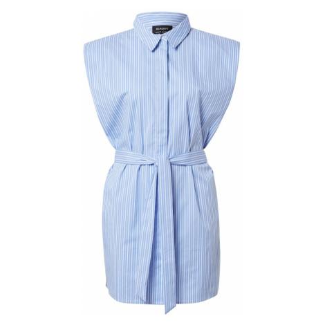 Bardot Košeľové šaty  biela / svetlomodrá