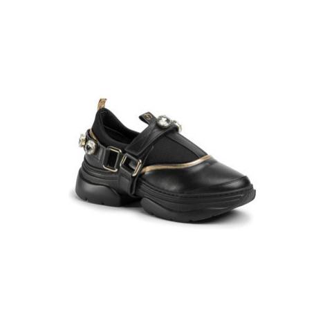 Eva Minge Sneakersy EM-49-07-000702 Čierna
