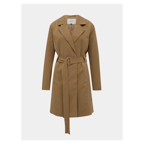 Svetlohnedý ľahký kabát Jacqueline de Yong Nella