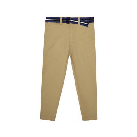 Polo Ralph Lauren Bavlnené nohavice Spring I 322785695 Béžová Regular Fit
