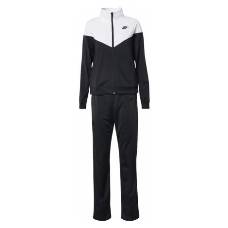 Nike Sportswear Tepláková súprava  čierna / biela
