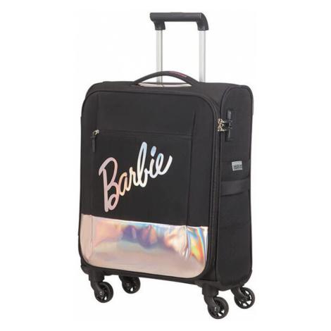 American Tourister Kabinový cestovní kufr Modern Glow Barbie Soft Spinner 39 l - černá