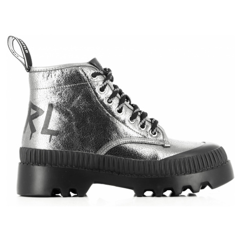 Členková Obuv Karl Lagerfeld Trekka Ii Brush Logo Hiker