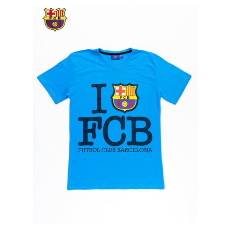 Blue FC BARCELONA men´s t-shirt