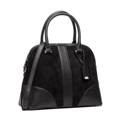 čierne kufríkové kabelky