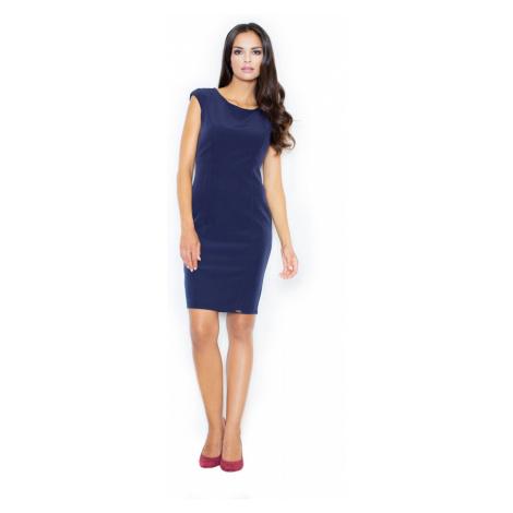 Figl Woman's Dress M378 Navy Blue