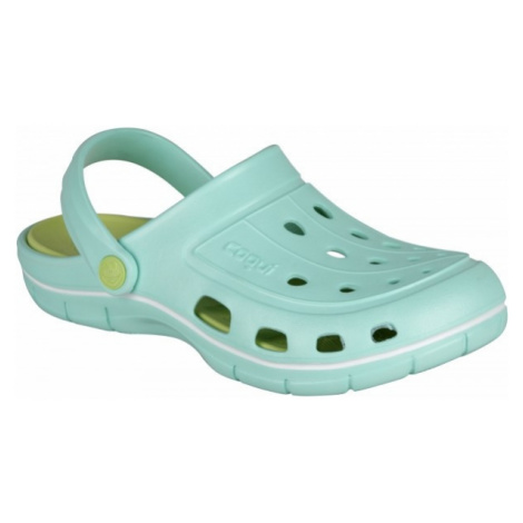 Coqui JUMPER svetlo zelená - Dámske sandále