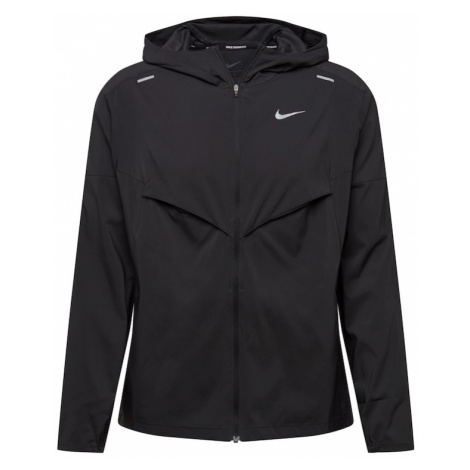 NIKE Športová bunda  čierna