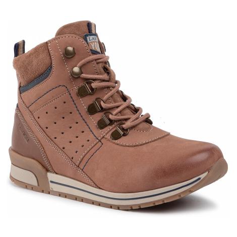 Outdoorová obuv LASOCKI YOUNG - CI12-MARCO-01 Camel