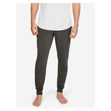 Kalhoty na spaní Under Armour Hnedá